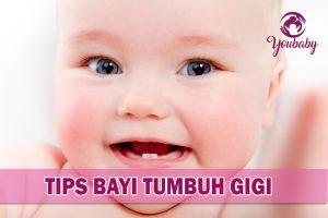 melegakan bayi tumbuh gigi