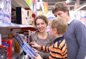 Terdapat pelbagai jenis mainan yang telah dicipta untuk pasaran kanak-kanak.