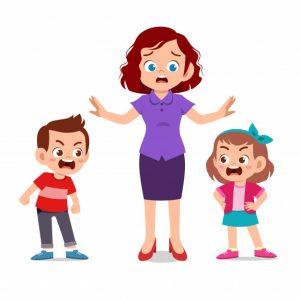 Walau bagaimanapun, ibu bapa harus terlibat ketika pergaduhan melibatkan fizikal